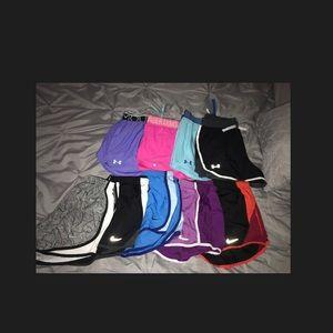 nike/ under armor shorts
